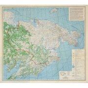 Карта общегеографическая