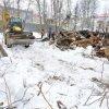 Мэр Магадана Сергей Абрамов опроверг информацию о том, что при разборке здания краеведческого музея уничтожаются деревья