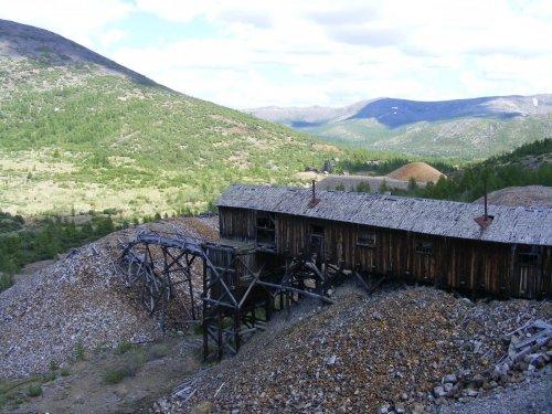 Экспедиция на бывший рудник «Днепровский» и в Ягоднинский район