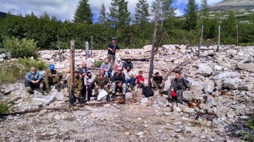 Экспедиция в район бывшего рудника «Бутугычаг».