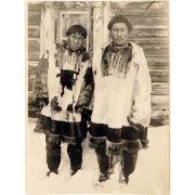Фотография. Коряки в национальной одежде