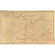 . Схематическая карта Северо-Востока Союза