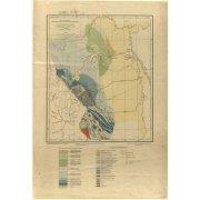 Геологическая карта левобережья средней части реки Колымы