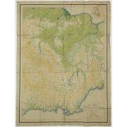 Карта-схема орографии Колымско-Индигирского района