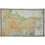 Гипсометрическая карта Северо-Востока СССР