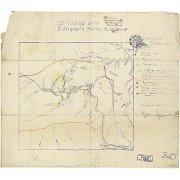 Схематическая карта Оротукского района