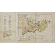 Тектоническая карта Северо-Востока
