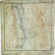 Топографическая карта бассейна реки Среднекан