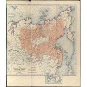 Карта расселения тунгусских племён