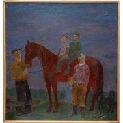 Шадрунова З.Г. Семья пастуха