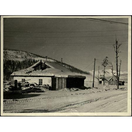 Фотография. Здание отделения связи
