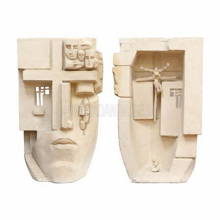 Неизвестный Э. И. Модель скульптуры