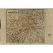 Карта бассейна реки Лены