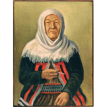 Автор неизвестен. Портрет юкагирки Солнцевой