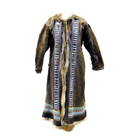 Кафтан женский зимний