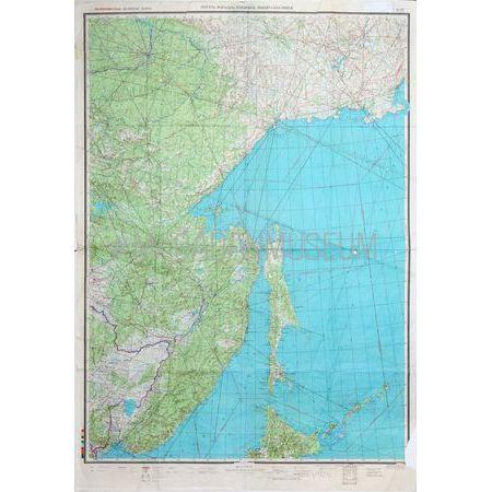Карта полетная полимаршрутная двухсторонняя