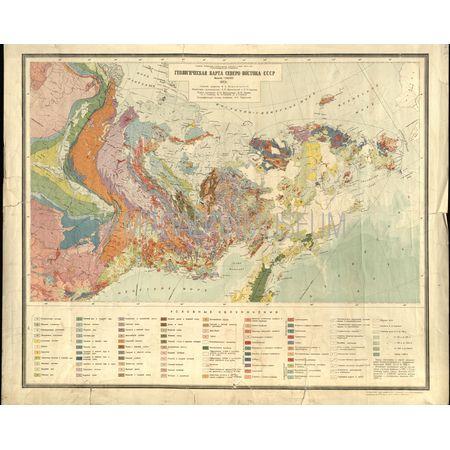 Карта геологическая