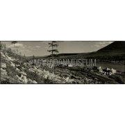 Фотография. Панорама поселка изыскателей