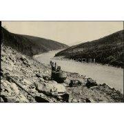 Фотография. Строительство Колымской гидроэлектростанции
